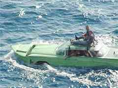 Cuban Buick Sails to FL