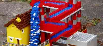 Escher via Legos